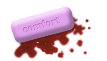 Comfort screws you up